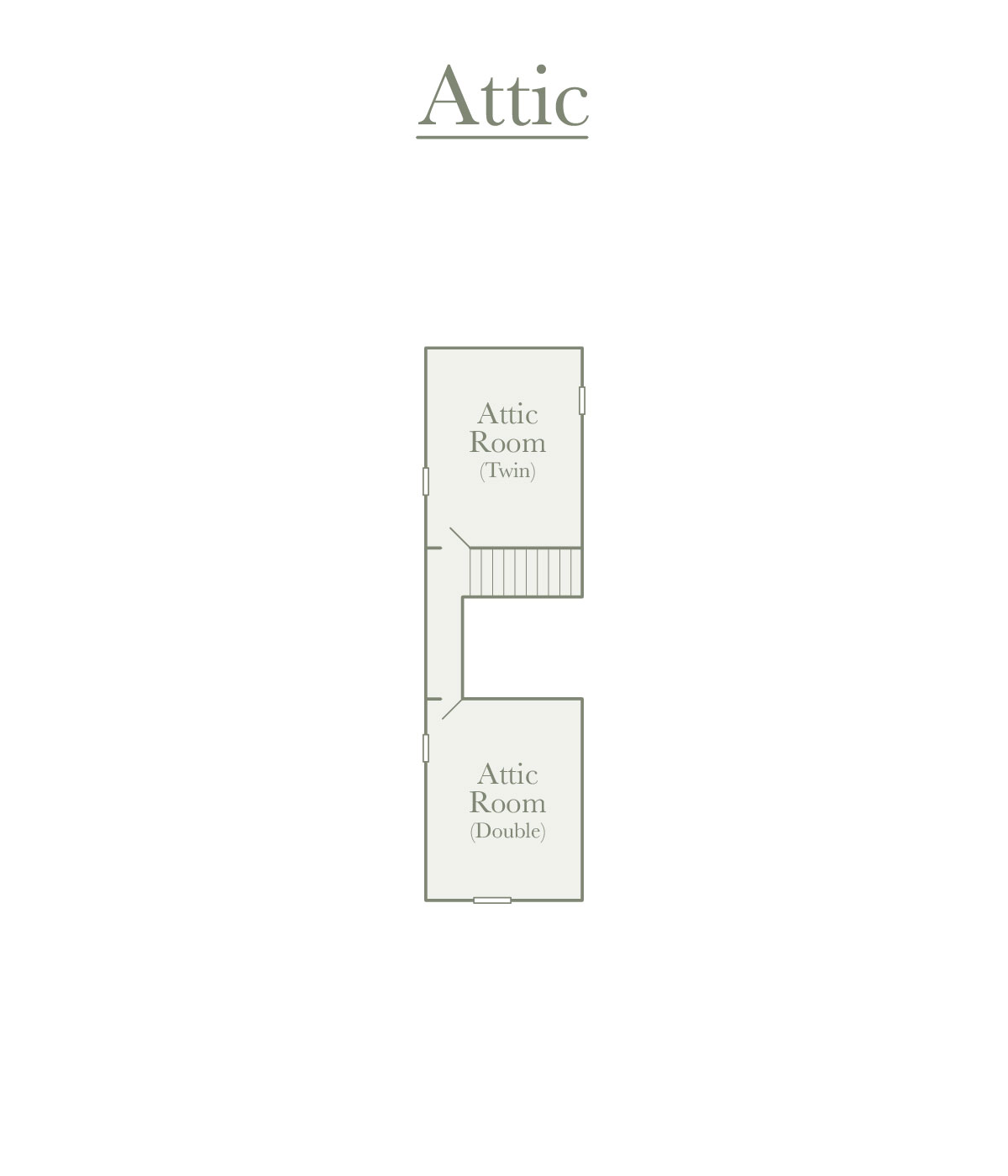 Attic Room Plan